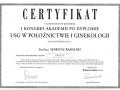 certyfikat-ginekolog